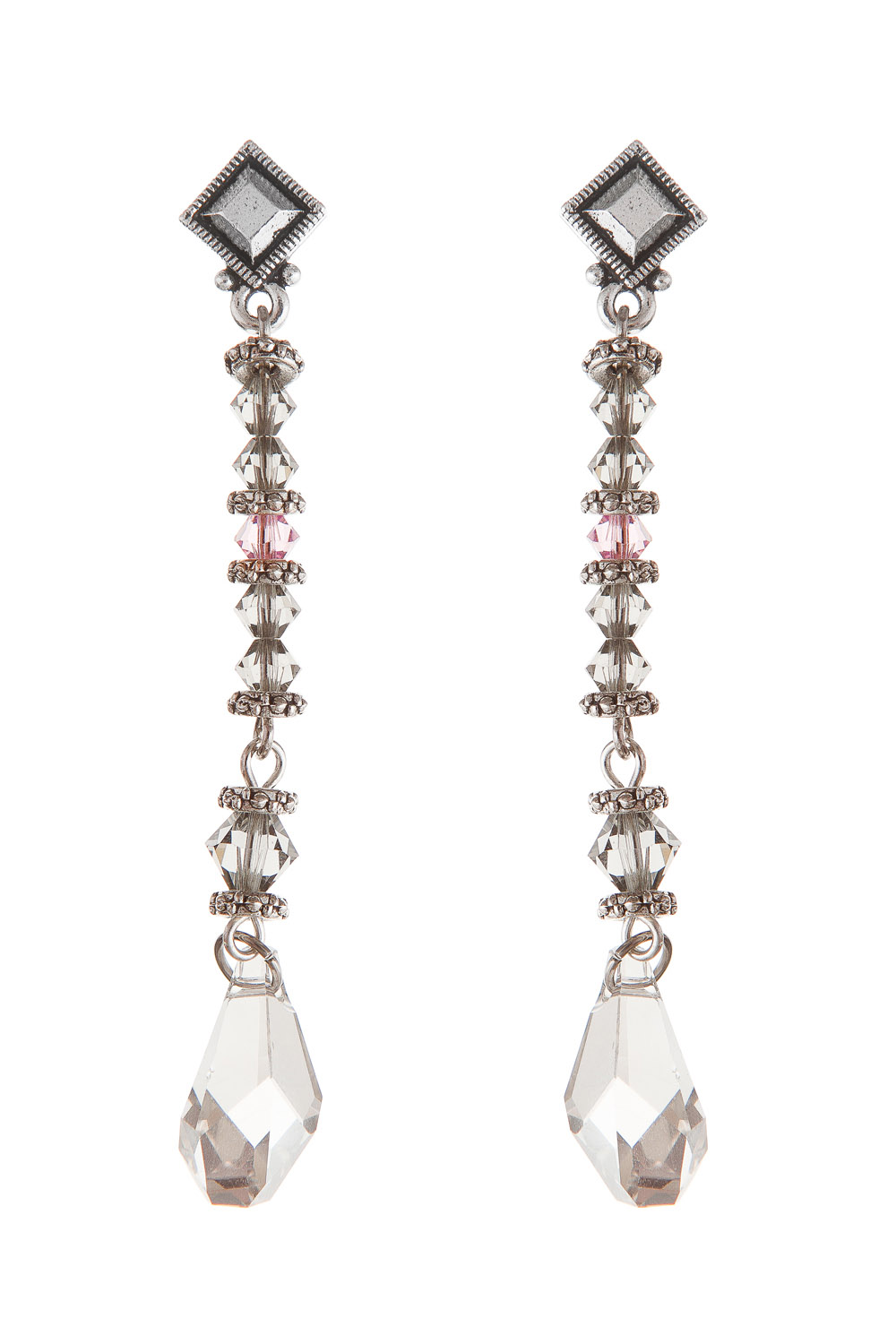 Swarovski-Drops-Grey-Light-Amethyst-earrings-SenseOfColor