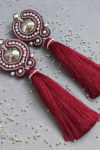 Swarovski Textile Jewelry Tassel
