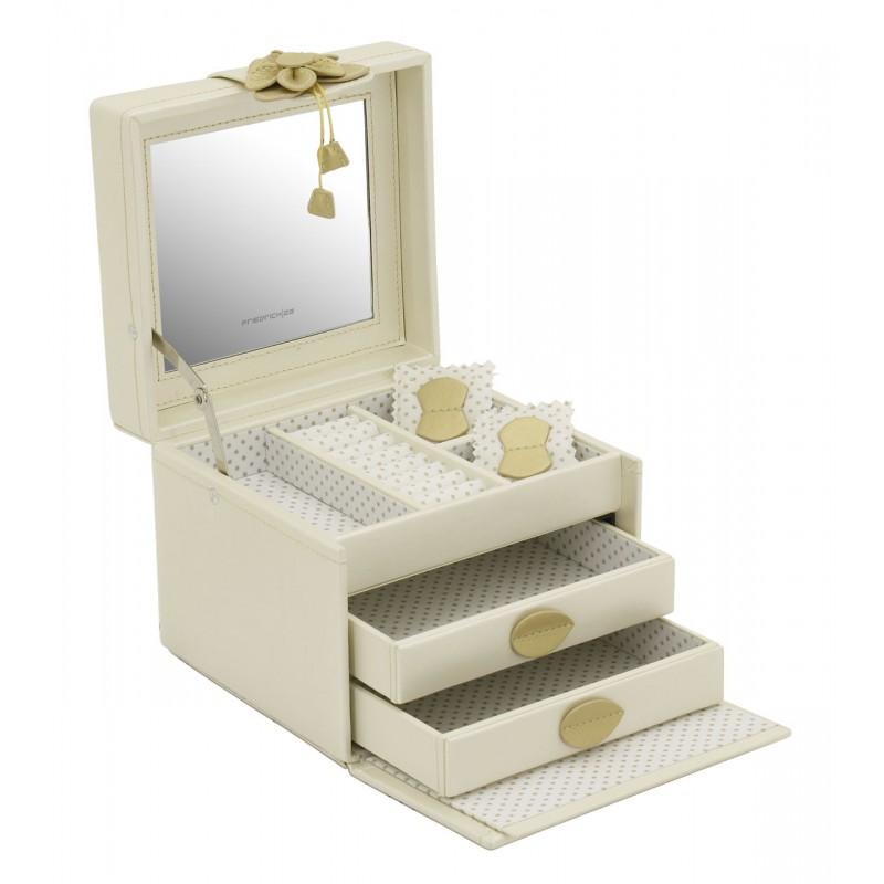Хранение украшений, идеи, шкатулка с ящиками