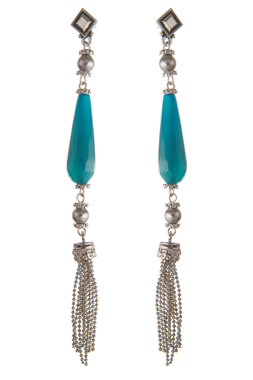 Agate&Tassel-earrings-SenseOfColor