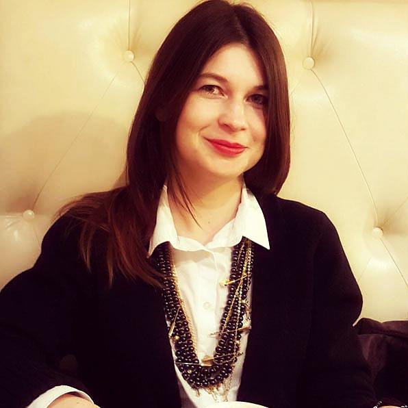 Анна П., колье Pins