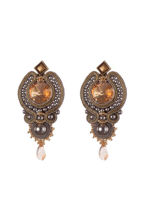 Серьги Swarovski Textile Jewelry