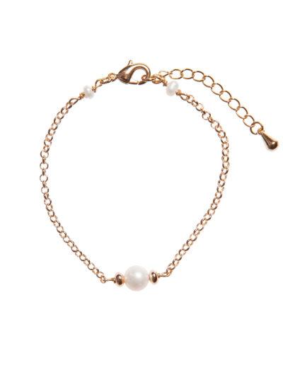 Браслет с жемчугом Shy Pearls (gold)